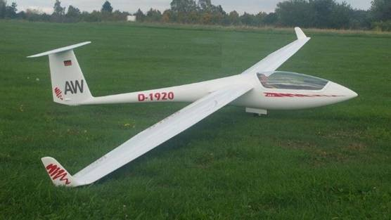 ASW 20 5000 mm con winglets (Airwold)
